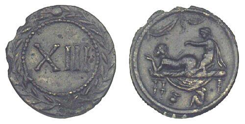 Les jetons de bordels romains Jeton4